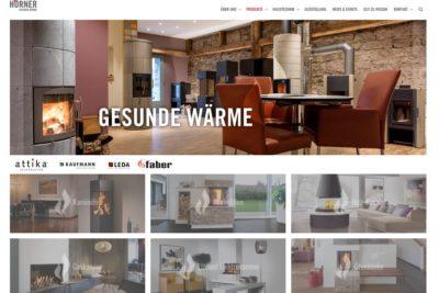 Die neue Hörner-Website ist online!